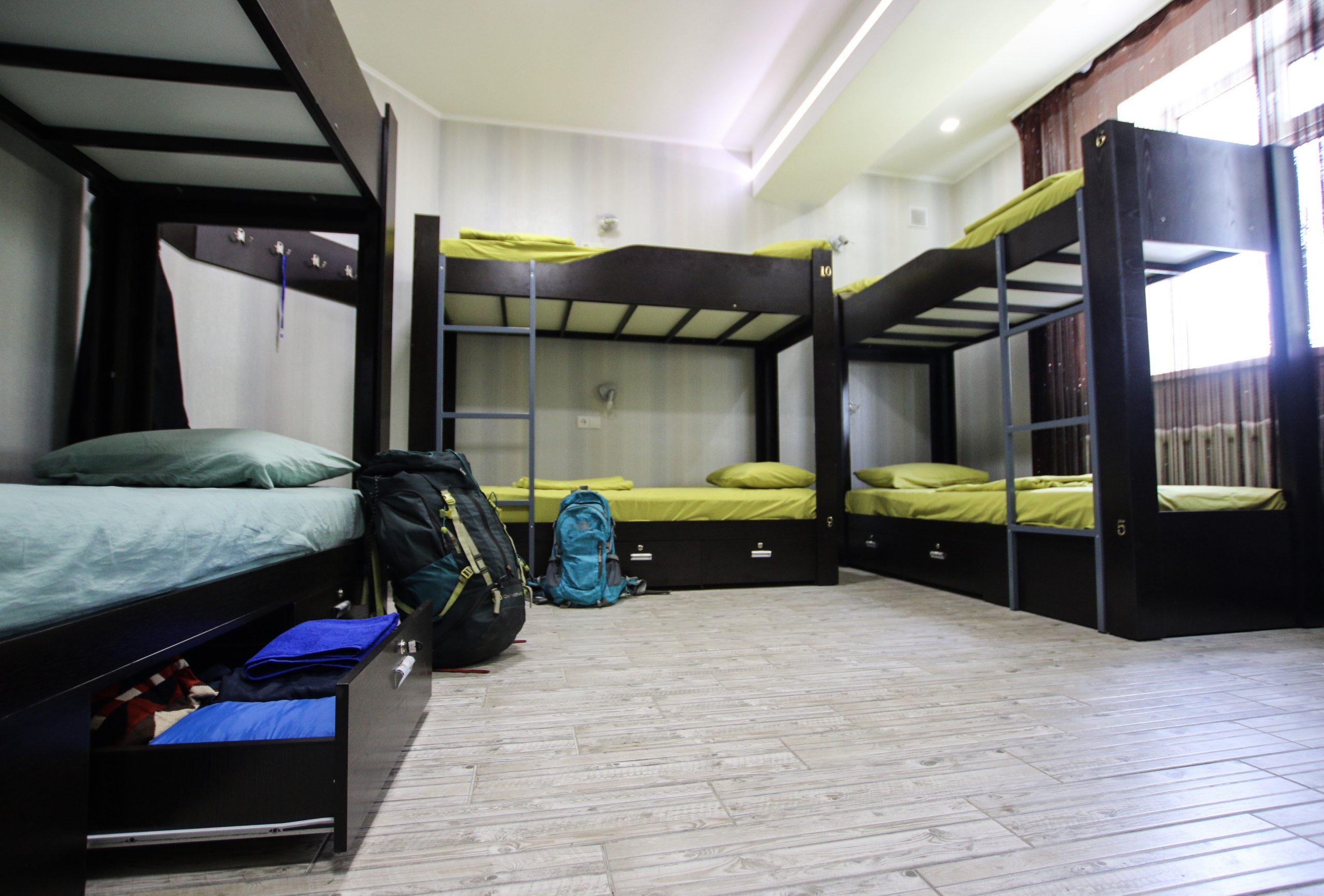 Apple Hostel Dorm Room