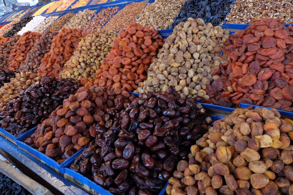 Osh Bazaar Fruit