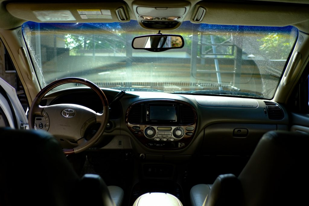 Toyota Sequoia Front Interior