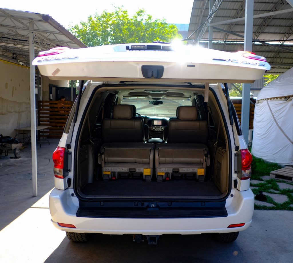 Toyota Sequoia Rear