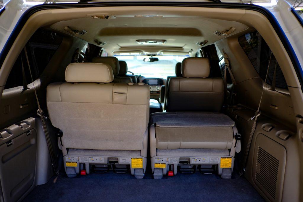 Toyota Sequoia Rear Interior