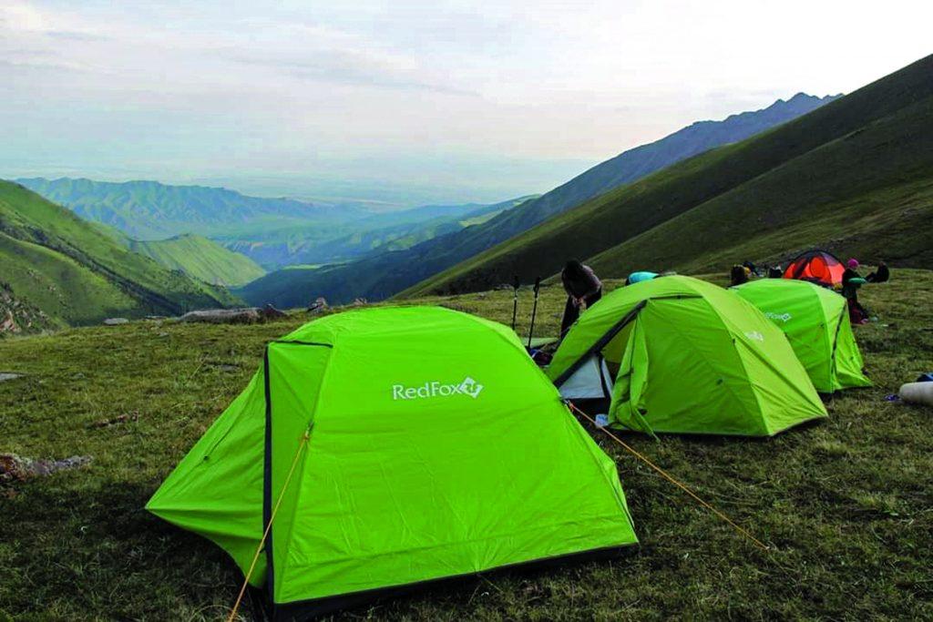 Camping at kegeti