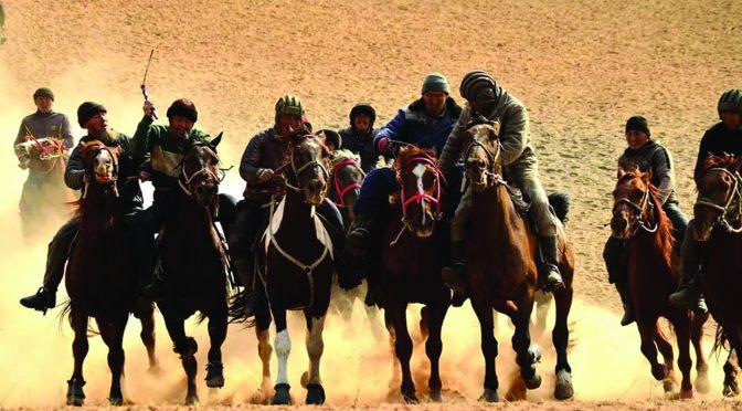 Kok Boru Kyrgyz Traditional Games Festival - riders