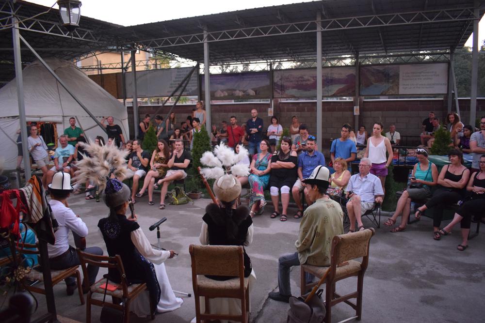 Apple Hostel cultural night