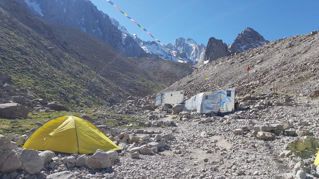 Camping in Ala-Archa