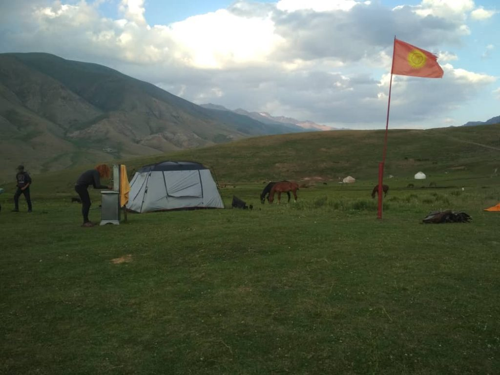 Kyrgyzstan Camping