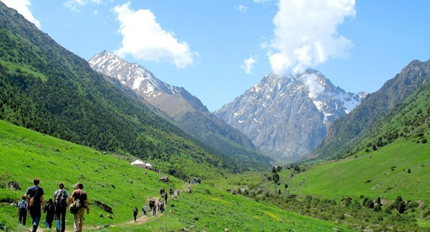 Mountains in Issyk Ata