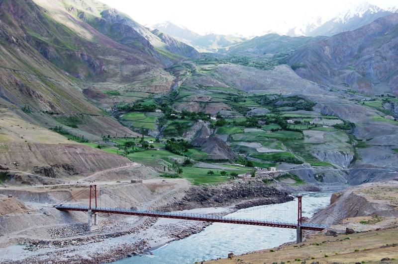 Tajikistan Bridge