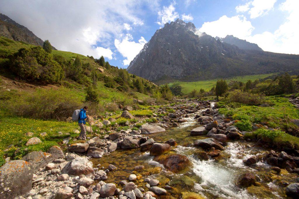 Issyk Ata Mountains