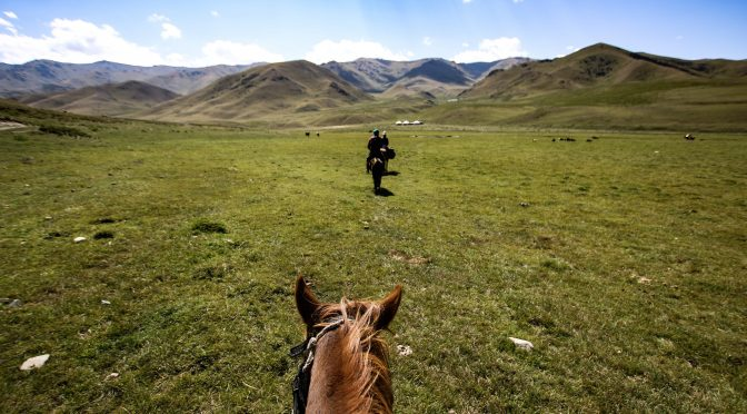 Song-Kol Lake 3-Day/2-Night Horse Riding Trip