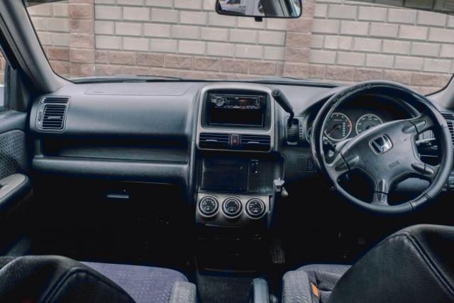 Honda CRV Interior front