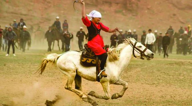 Cultural and National Show in Talas